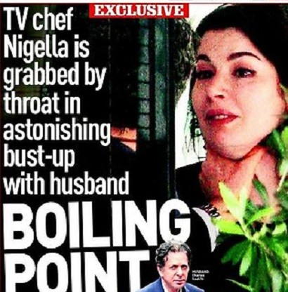 Nigella Lawson Sunday People Cover