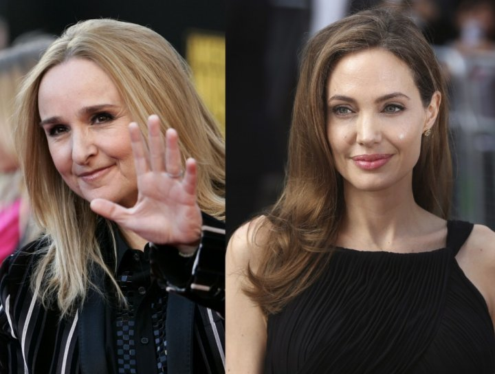 Melissa Etheridge and Angelina Jolie