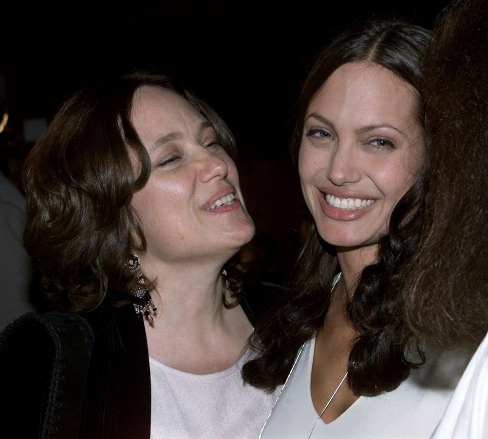 Jolie's mother Marcheline Bertrand died from ovarian cancer at 56 (Reuters)