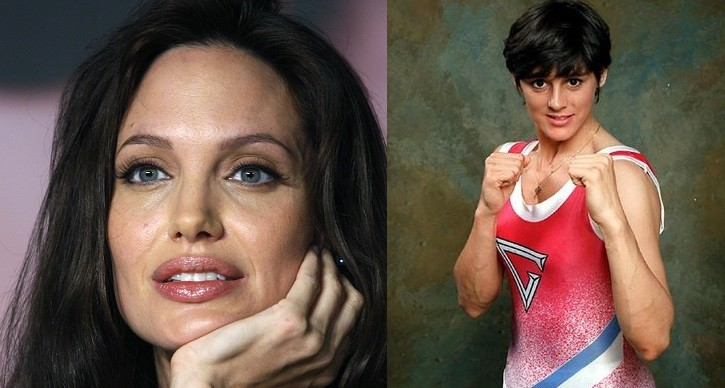 Eunice Huthart (R) worked with Angelina Jolie on films such as Mr Mrs Smith (Reuters/ITV)
