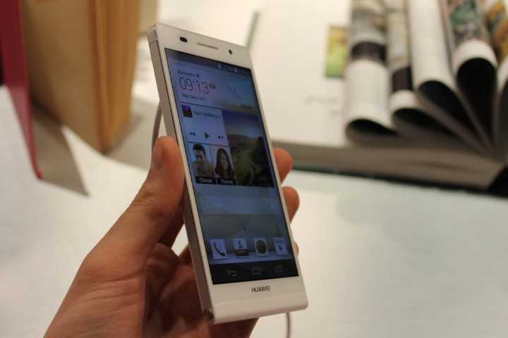 Huawei Ascend P6 Announced as World's Thinnest Smartphone