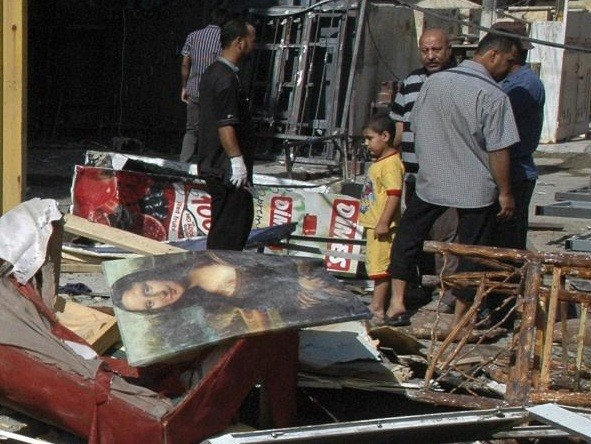Qahira Mosque bombing, Baghdad