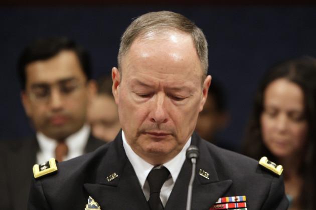 NSA Keith Alexander hearing
