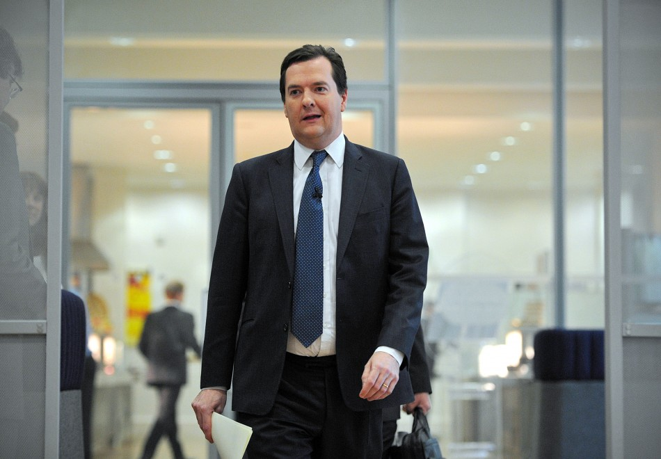 UK Chancellor George Osborne will deliver his Mansion House Speech this evening in London (Photo: Reuters)