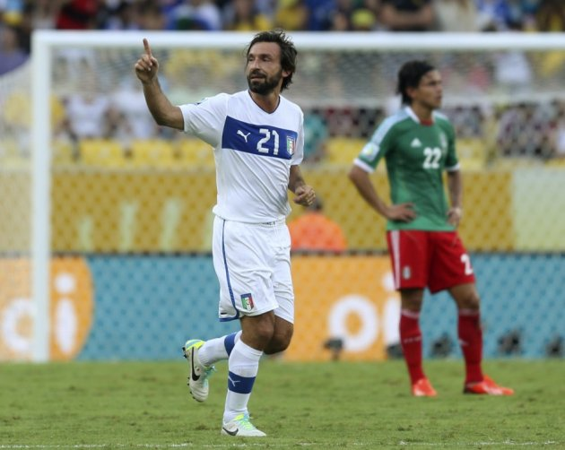 Mexico v Italy