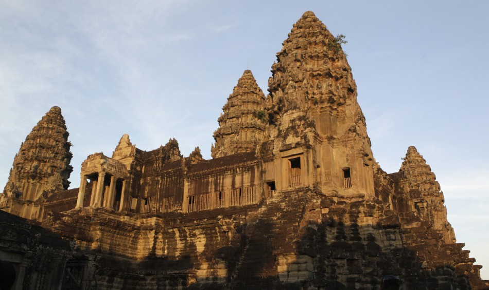 The lost city is related to the famous temples of Angkor in Cambodia (Reuters)