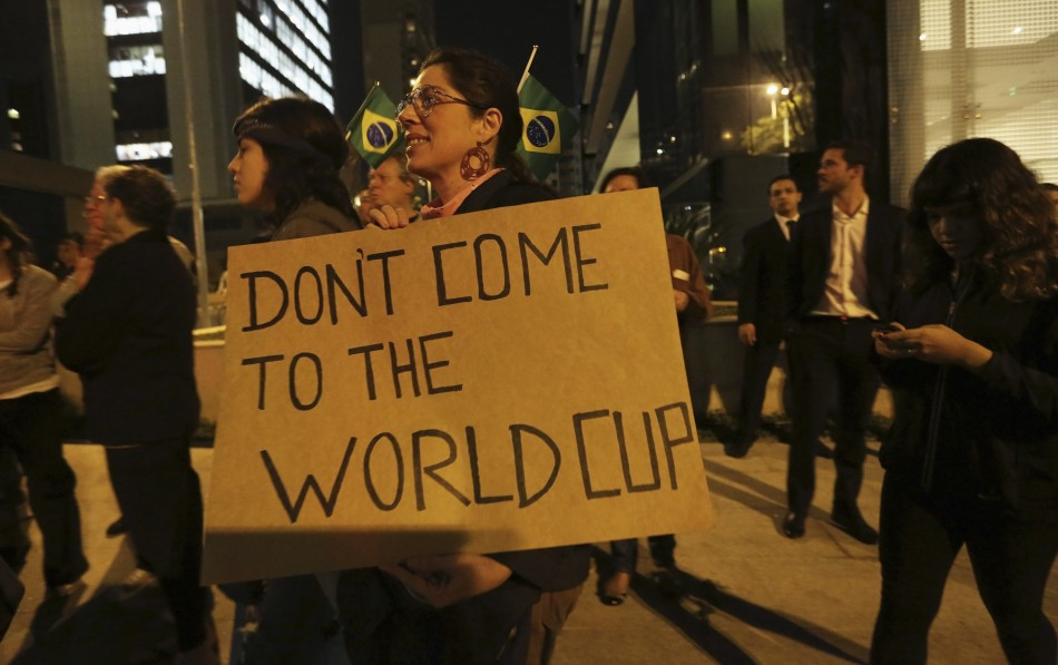 World Cup Brazil protests