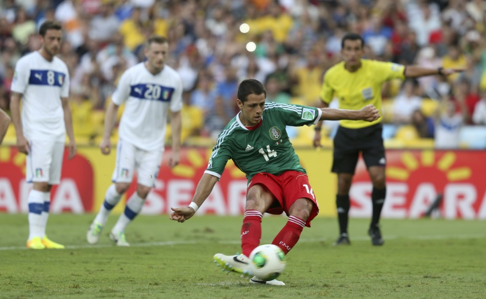 Javier Hernandez will lead Mexico's attack