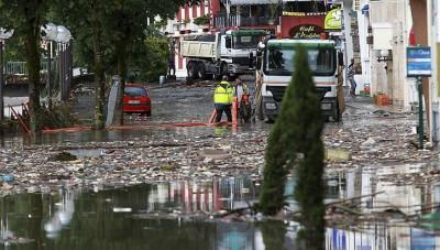 Lourdes floods