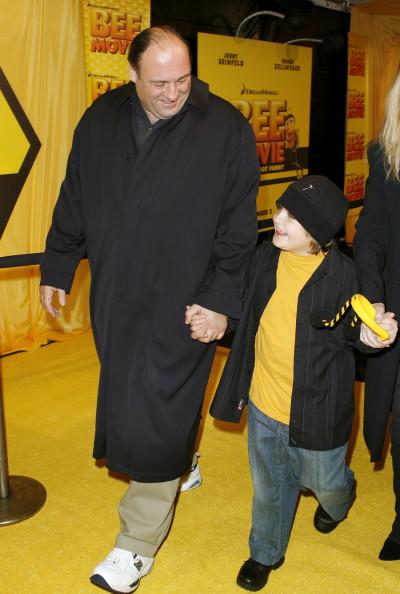 James Gandolfini and son Michael