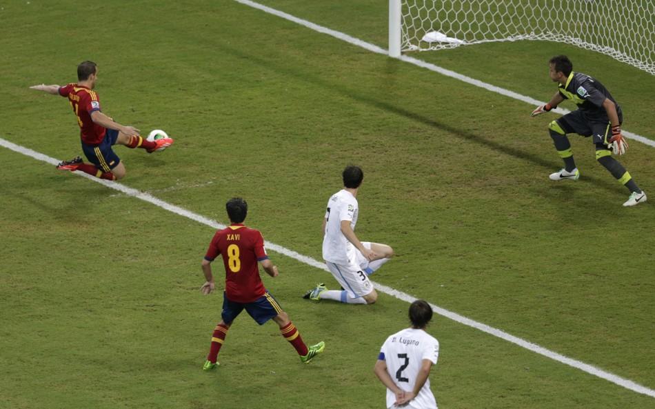 Uruguay v Spain