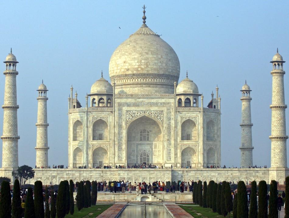 Taj Mahal (Credit: REUTERS)