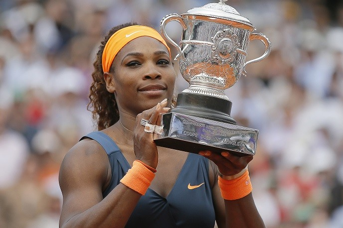 Serena Williams' comments appeared in an interview with Rolling Stone (Reuters)