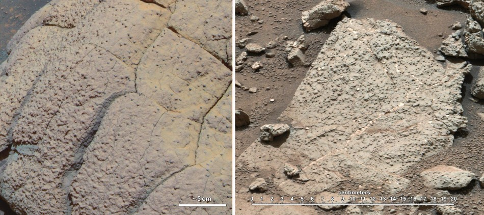 Images from NASA Rovers on Mars