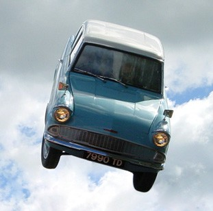 World's first flying car, 1949's Aerocar, goes up for sale for nearly $1 million/Twitter/hunkyzayn