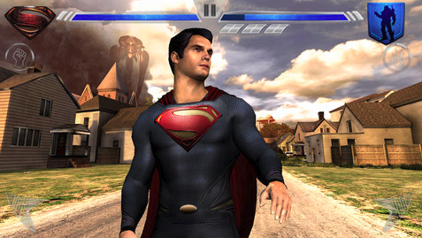 best iphone apps man of steel