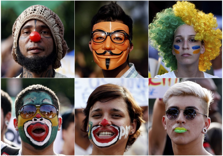 Brazil anti-government protests