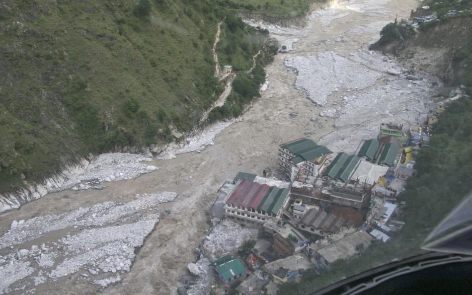 North India floods in Uttarakhand