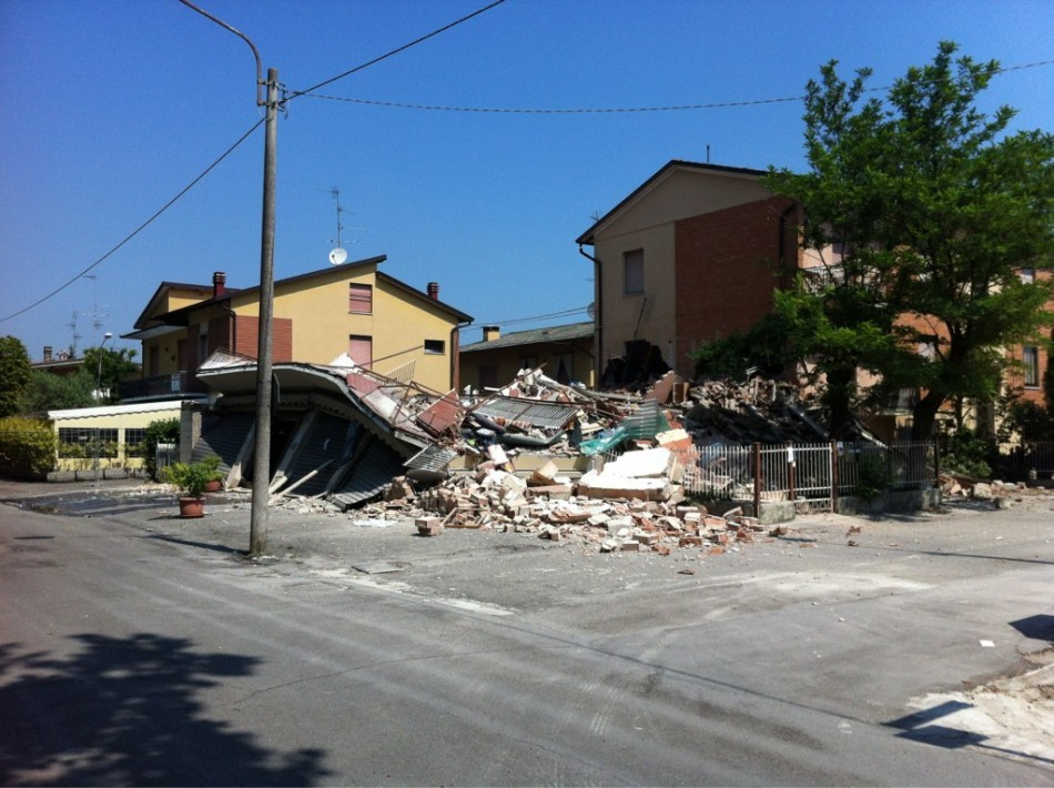 Picture of 2012 earthquake