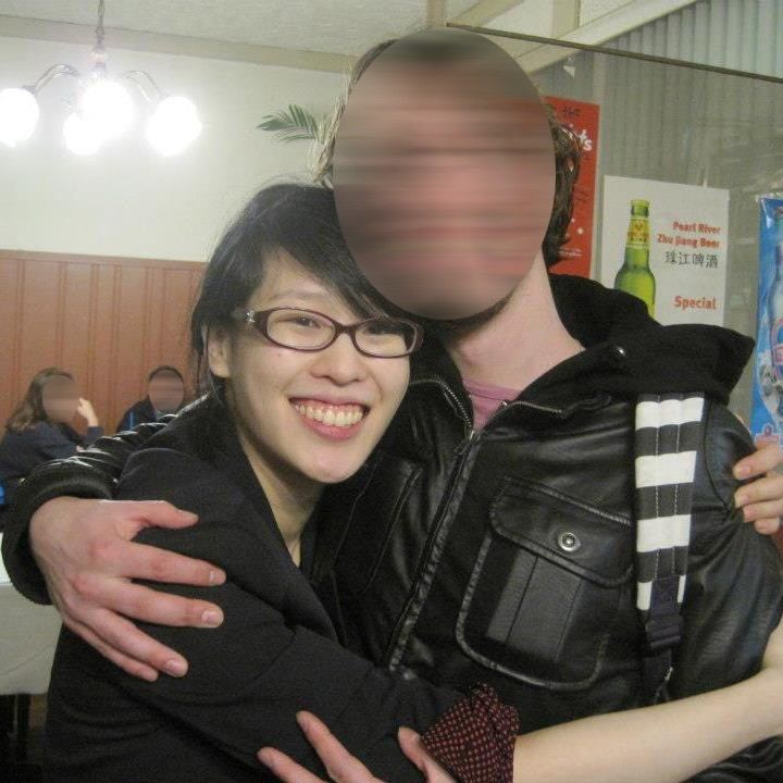 Elisa Lam With an unidentified friend