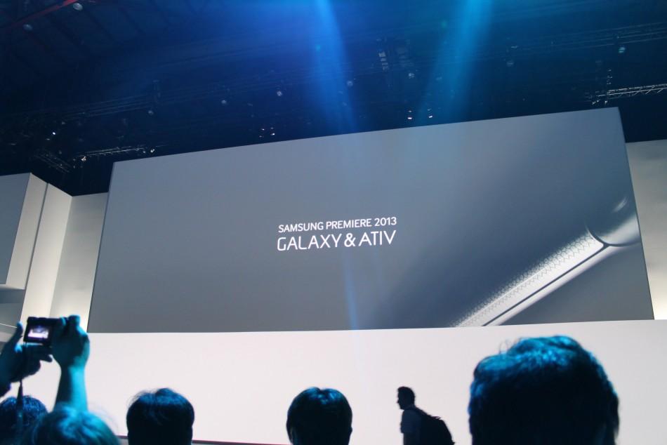 Samsung Premiere keynote