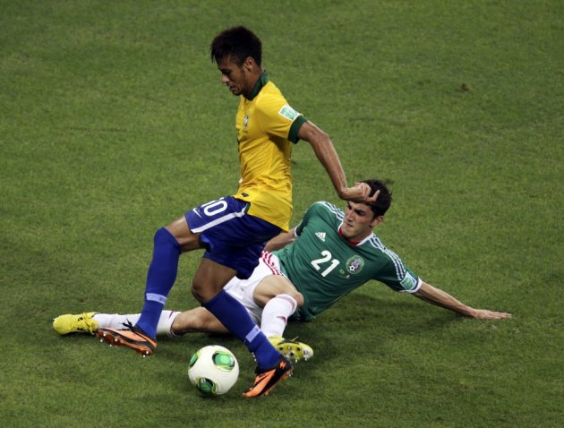 Brazil v Mexico [2013 FIFA Confederations Cup]