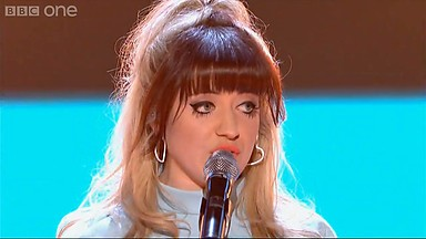 23-year-old Leah McFall is hot favourite to win The Voice final