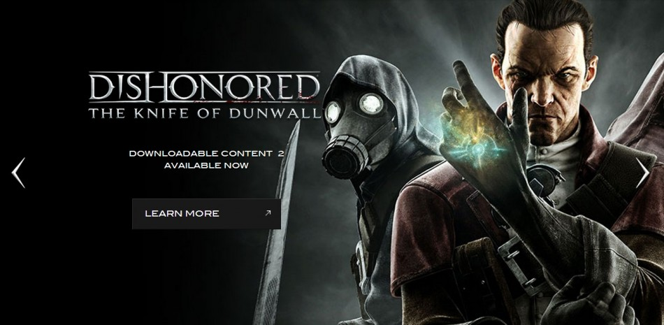 Dishonored (Courtesy: www.dishonored.com)