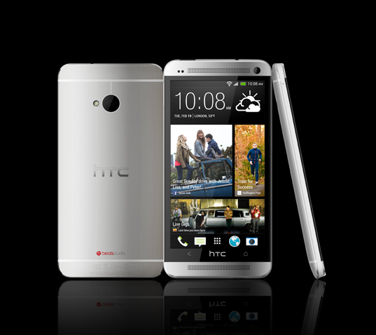 HTC One (Courtesy: www.htc.com)