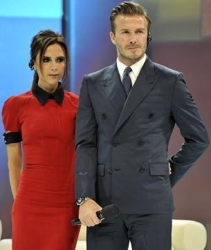 The Beckhams in China
