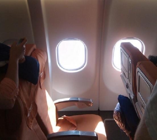 Edward Snowden's empty aircraft seat