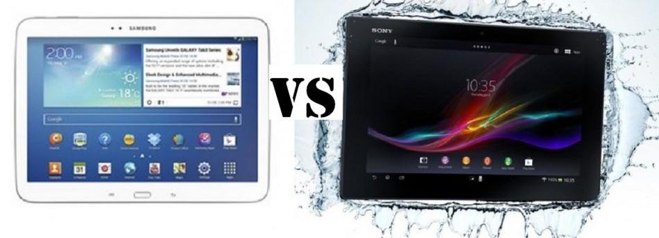 Samsung Galaxy Tab 3 10.1 Vs Sony Xperia Tablet Z