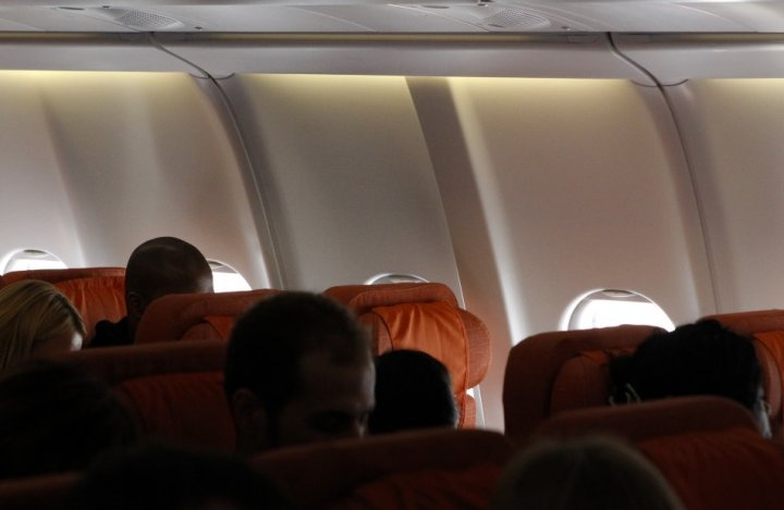 An empty passenger seat believed to be reserved for former US spy agency contractor Edward Snowden on the Moscow-Cuba flight (Reuters)
