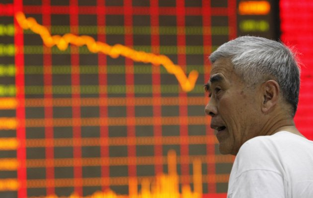 Mainland Chinese markets plunge on 25 June, 2013