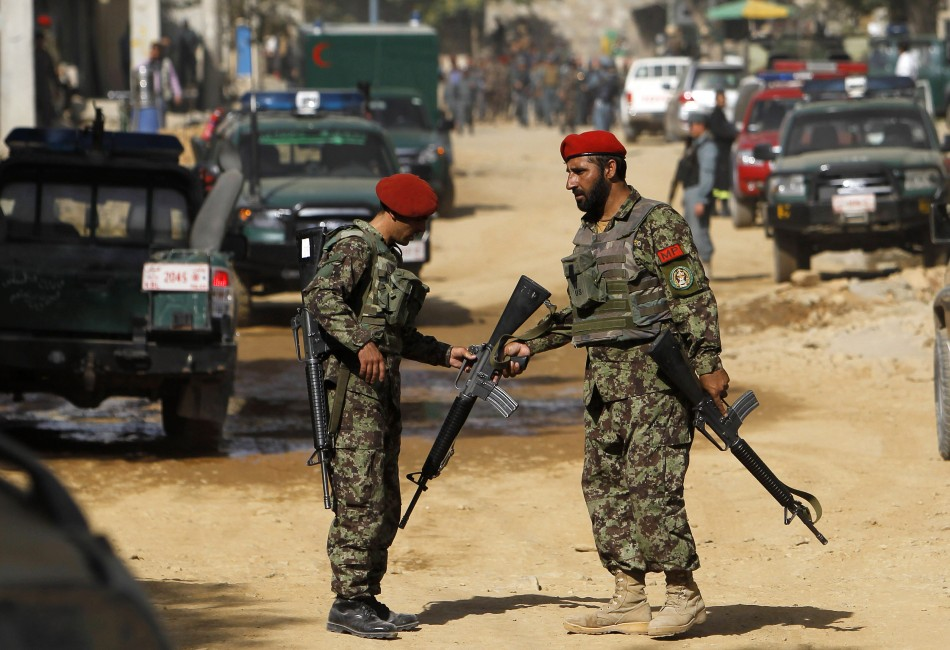 Afghan presidential palace attack in Kabul