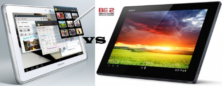 Sony Xperia Tablet Z Vs Samsung Galaxy Note 10.1