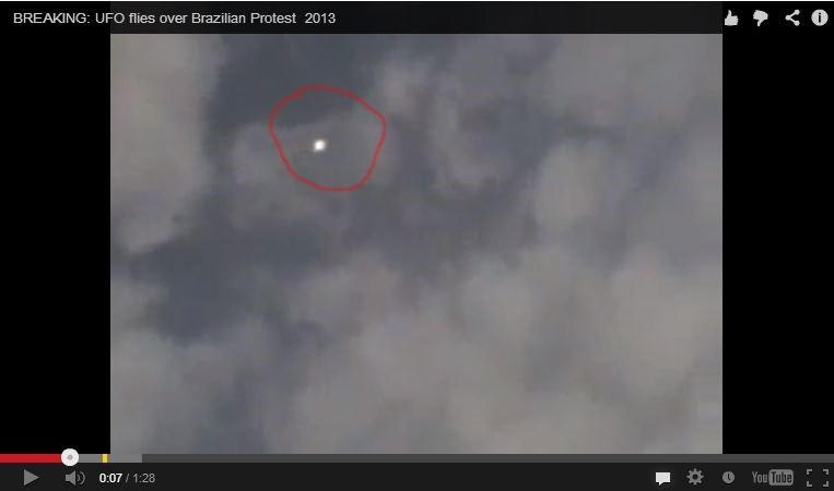 UFO Spotted Above Brazil