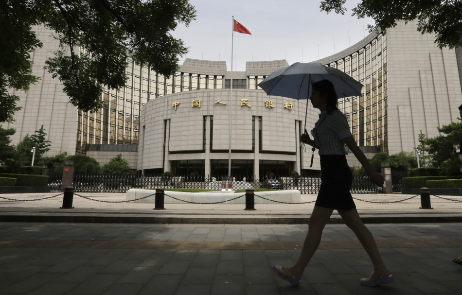 People's Bank of China to save the day