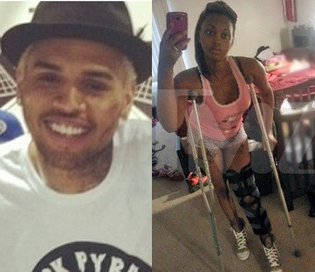 Chris Brown and Deanna Gines