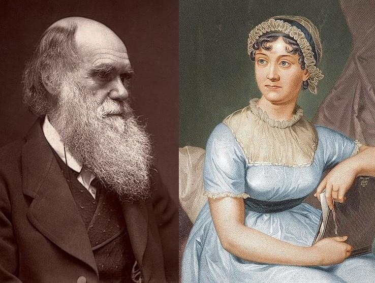 Charles Darwin Jane Austen