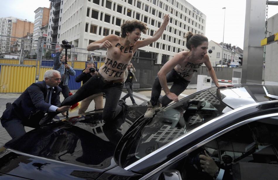 Femen Brussels Tunisia