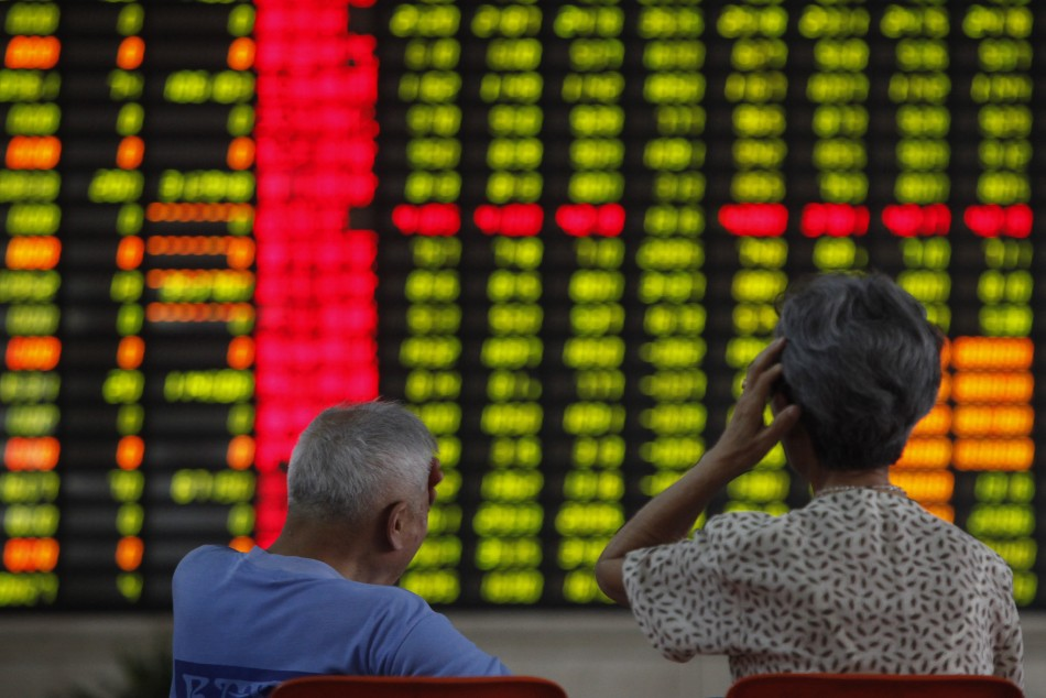 Chinese markets fall on 26 June, 2013