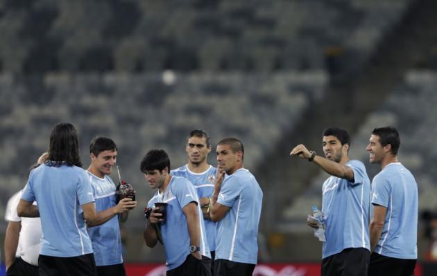 Luis Suarez and Uruguay