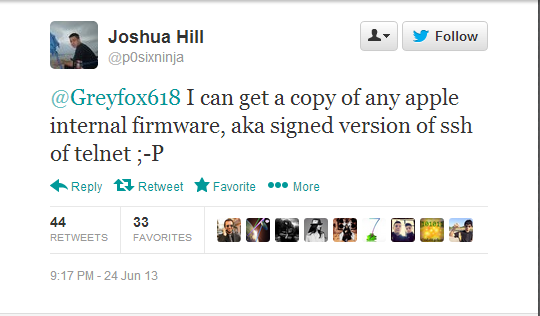 iOS 7 Untethered Jailbreak: P0sixninja Hints at Signed Version of iOS Firmware for Upcoming Release
