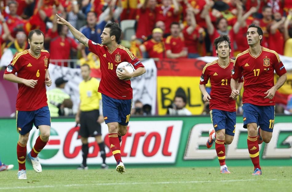 Spain v Italy [Euro 2012]