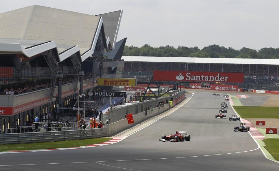 2012 Formula 1 British Grand Prix at Silverstone Circuit