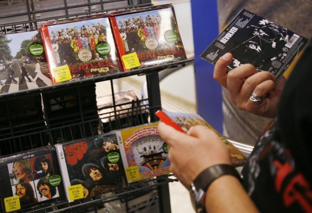 CD sales
