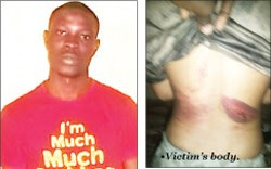 Babajide Bashorun and Victim
