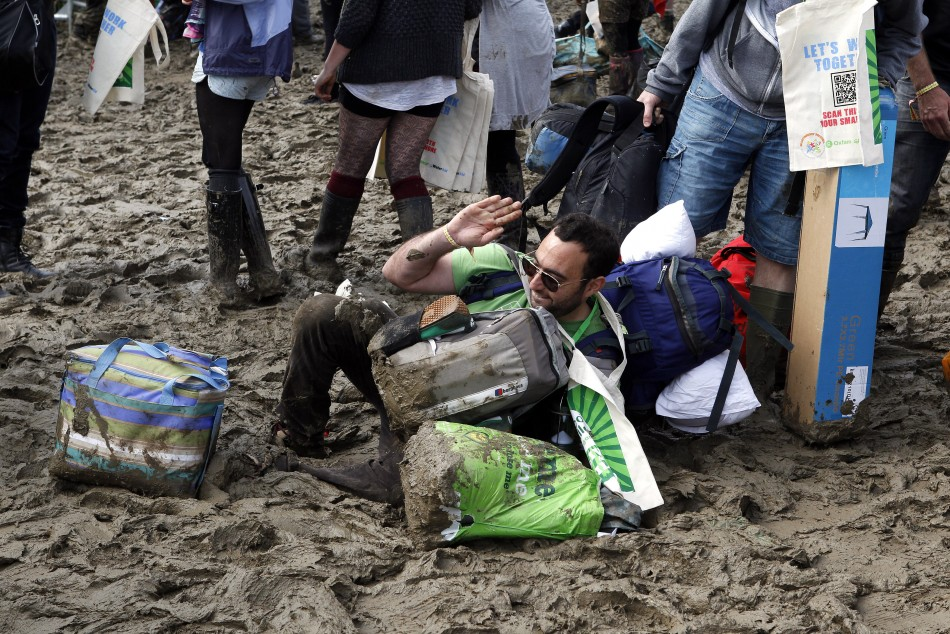 Glastonbury can be a seriously challenging environment