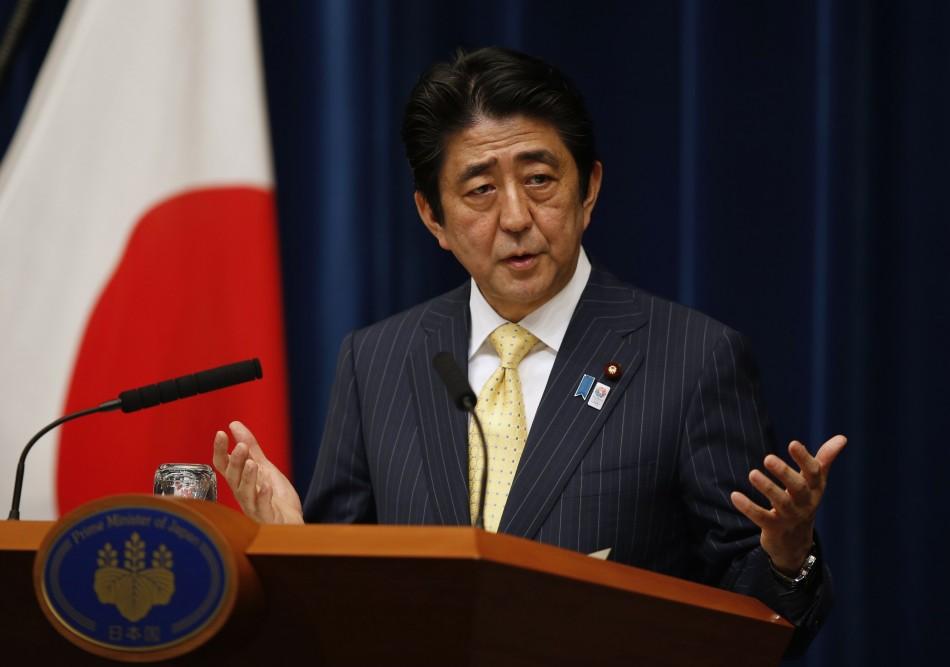 Japan's PM Abe